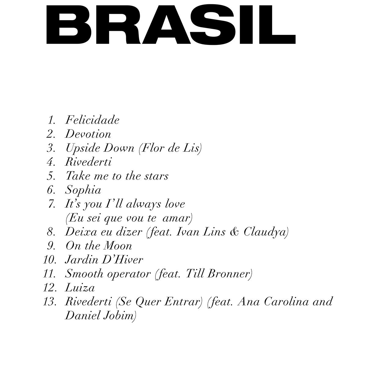 Brasil - tracce